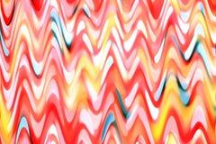 Zamazana czerwona tekstura z abstrakcjonistycznymi postaciami Zdjęcie Royalty Free