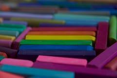 Zamazana fotografia LGBT flaga od kijów artystyczny pastel Słuzyć jako tło zdjęcia royalty free