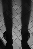 Zamazana fotografia, Rozmyty wizerunek, cienia tła ludzie Zdjęcie Royalty Free