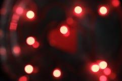 zamazana tło czerwień Fotografia Stock