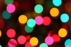 zamazanego okręgu kolorowi światła Zdjęcie Royalty Free