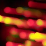 Zamazani światła Zdjęcia Stock
