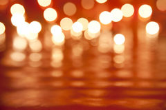 zamazani światła Obraz Royalty Free