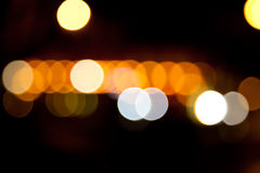 Zamazani światła Zdjęcia Royalty Free