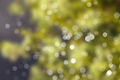 Zamazani światła i defocused lekkie kropki Zdjęcie Royalty Free