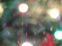 Zamazani boże narodzenie ornamenty Fotografia Royalty Free