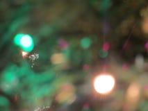 Zamazani boże narodzenie ornamenty Fotografia Stock