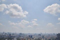 Zamazani pejzaże miejscy w Bangkok, Tajlandia obraz royalty free