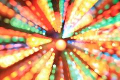 Zamazani różni kolorów światła Zdjęcia Stock