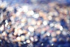 Zamazani tekstury morza kamienie Fotografia Royalty Free