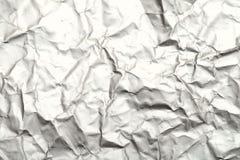 Zamazany abstrakcjonistyczny tło zmięta białej księgi powierzchnia zdjęcie royalty free