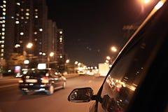 Zamazany miastowy spojrzenie zdjęcia stock