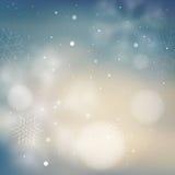 Zamazany mlecznoniebieski zimy tło ilustracji