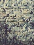 Zamazany nowożytny ściana z cegieł Zdjęcia Stock