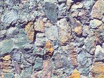 Zamazany nowożytny ściana z cegieł Obrazy Stock