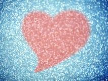 Zamazany różowy tło Elegancki abstrakcjonistyczny tło z bokeh Fotografia Royalty Free