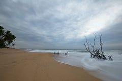 Zamazany ruchu seascape Obrazy Stock