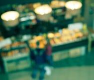 Zamazany widok kawiarnia zdjęcie stock