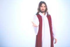 Zamazany wizerunek jezus chrystus fotografia royalty free