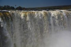 Zambesi Wiktoria i rzeki spadki Zimbabwe Zdjęcie Stock