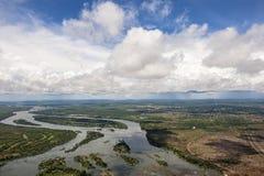 Zambezi river Stock Image