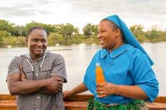 Zambezi rivierreis Royalty-vrije Stock Afbeeldingen