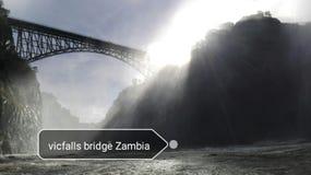 Zambia de ebullición del río Zambezi del pote Foto de archivo libre de regalías
