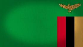 Zambia flag Royalty Free Stock Photos