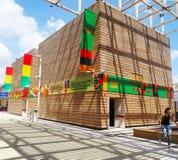 Zambia Pavilion, Expo 2015, Milan Stock Photography