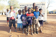 Zambia utbildning Royaltyfria Foton