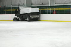 A Zamboni Ice Machine Royalty Free Stock Image