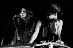 Zambri band performs at Matadero de Madrid Royalty Free Stock Photo