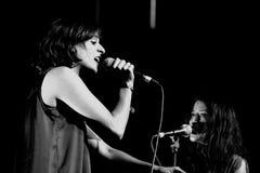 Zambri band performs at Matadero de Madrid Stock Photos