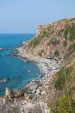 Zambrone, a small town near the sea in Calabria Stock Photos