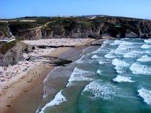 Zambujeira beschädigen, Portugal Lizenzfreies Stockbild