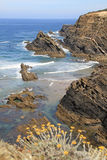 Zambujeira coastline Royalty Free Stock Image