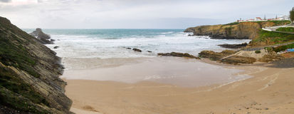 Zambujeira do Mar Beach Stock Photo
