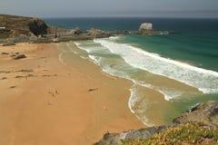 Zambujeira do Mar Beach Royalty Free Stock Photo