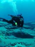 Zambullidor de equipo de submarinismo - resortes de Morrison Fotos de archivo libres de regalías