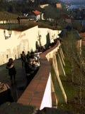 Zamecke di sguardo fisso schody Immagini Stock Libere da Diritti