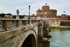 zamek świętego anioła Rzymu fotografia royalty free