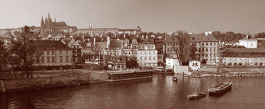zamek 01 Prague Fotografia Stock