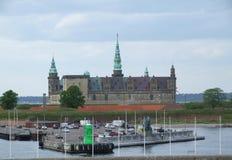 zamek 02 kronborg Zdjęcie Royalty Free