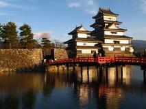 zamek 04 Matsumoto Japan Zdjęcia Stock