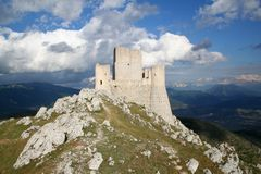 zamek 1 stary Obrazy Royalty Free