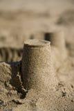zamek 2 piasku Zdjęcie Royalty Free