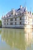 zamek azay Le Rideau Zdjęcie Stock