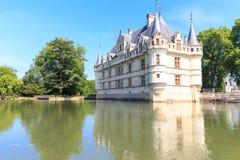 zamek azay Le Rideau Fotografia Royalty Free