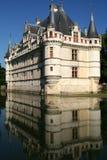 zamek azay Le Rideau France Fotografia Stock