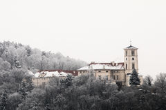 Zamek Cerna Hora. Castle located in Cerna Hora, Blansko Royalty Free Stock Image